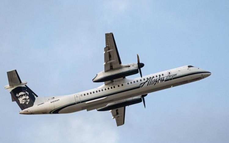 Một nhân viên kỹ thuật đã đánh cắp máy bay tại sân bay quốc tế Seattle-Tacoma. Ảnh: RT