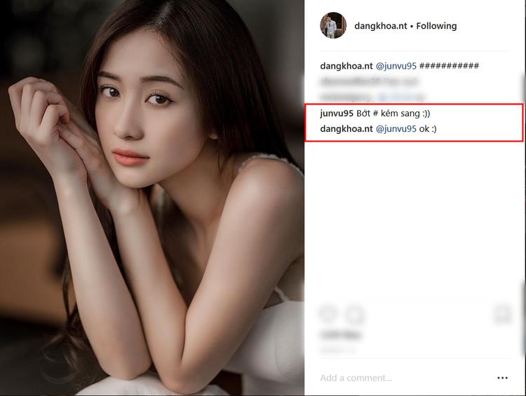 """Anh chàng thường hay đăng ảnh của nữ diễn viên lên trang instagram kèm theo caption """"chọc ghẹo"""" cô nàng."""