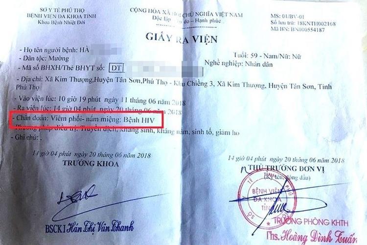 Nhiều người bị chuẩn đoán nhiễm HIV ở Phú Thọ. Ảnh: Giadinhmoi