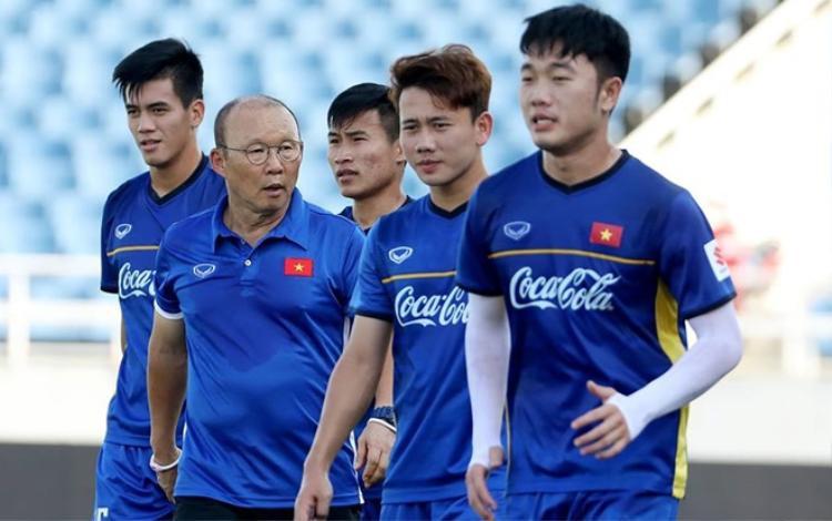 Thầy trò HLV Park Hang Seo gặp khó về sân tập tại ASIAD 18.