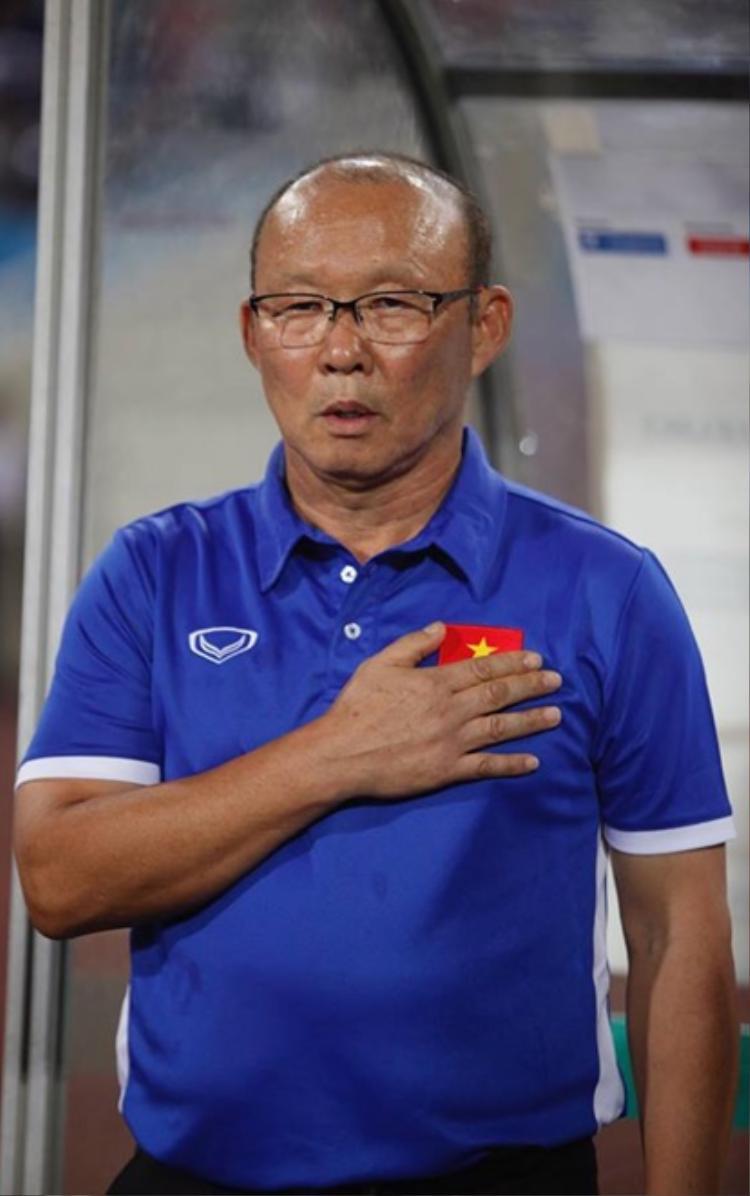 Ông Park đang rất lo lắng cho U23 Việt Nam.