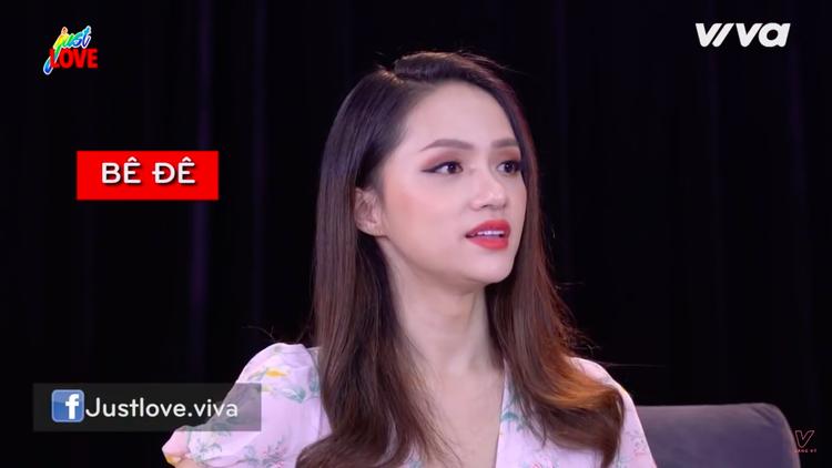 Hoa hậu Hương Giang đã đưa ra vấn đề về ý nghĩa thật của từ bê đê.