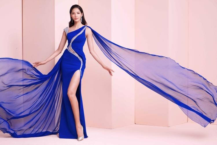 Hoàng Thùy là Á hậu 1 Hoa hậu Hoàn vũ Việt Nam 2017. Cô truyền cảm hứng bởi sự cố gắng thay đổi bản thân, từ một người mẫu chuyển sang nữ hoàng sắc đẹp.