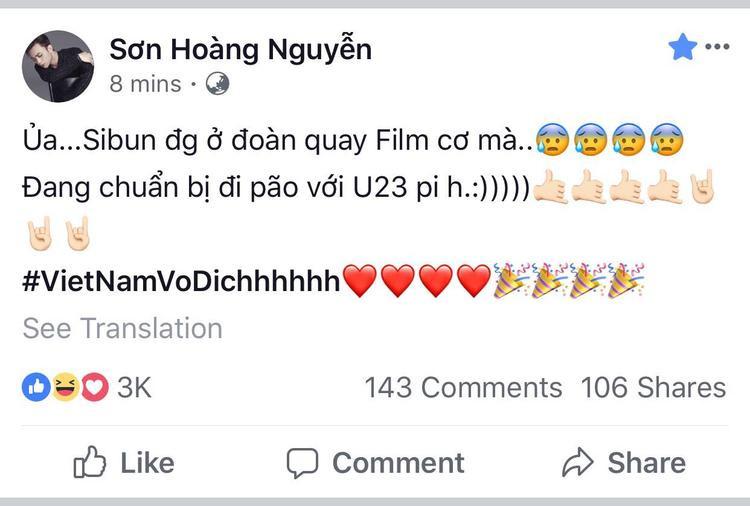 U23 Việt Nam lập kỳ tích tại ASIAD, sao Soobin Hoàng Sơn lại dở khóc dở cười được gọi tên? U23 Việt Nam lập kỳ tích tại ASIAD, sao Soobin Hoàng Sơn lại 'dở khóc dở cười' được gọi tên?