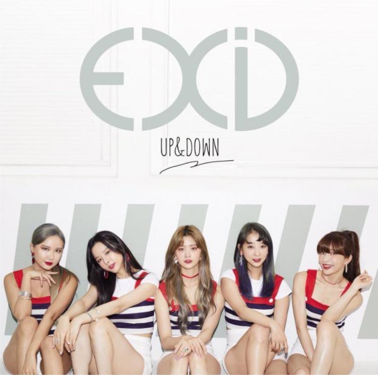 5 thành viên của EXID xuất hiện đầy đủ trong Up & Down phiên bản Nhật.