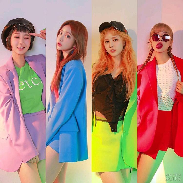 Gần 2 năm qua, EXID chỉ quảng bá với 4 thành viên.