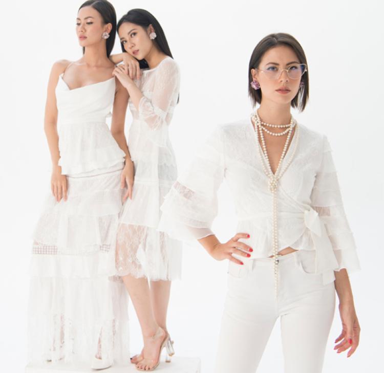 Những chiếc váy có khả năng dịch chuyển số đo, tàng hình mỡ thừa