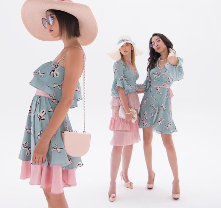 Tất cả các mẫu thiết kế đều dễ dàng chinh phục những cô nàng yểu điệu bởi sự êm dịu từ sắc màu đến những chi tiết bèo nhún, xếp tầng điệu đà, đáng yêu.