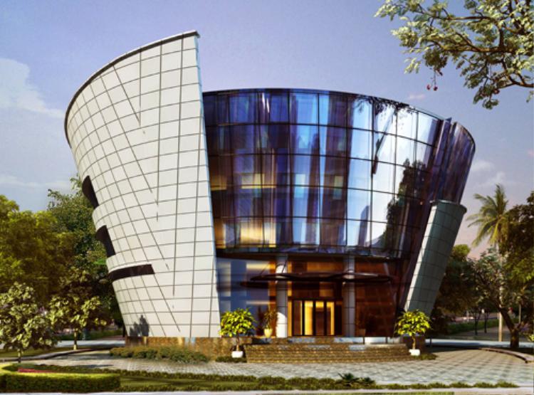 Thư viện trường ĐH Ngân hàng TP HCM.