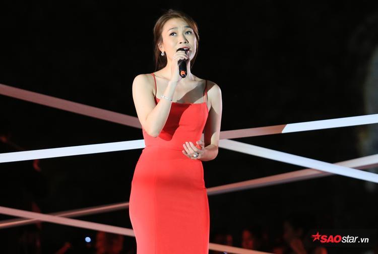 Nữ diễn viên đem đến những phút thăng hoa tuyệt vời, làm hài lòng khán giả.