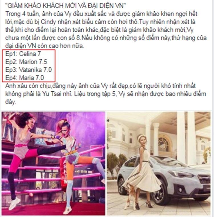 Fan Việt ngán ngẩm với cách cho điểm của các giám khảo khách mời.