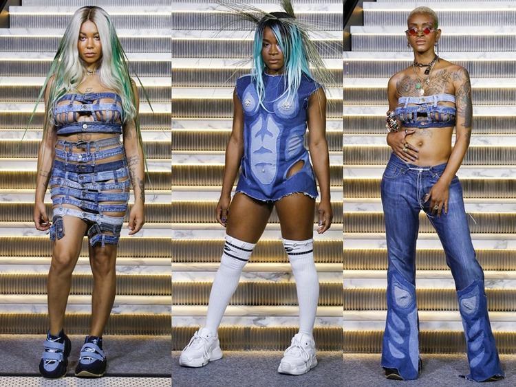 BST của Gypsy Sport tại Tuần lễ Thời trang New York với các thiết kế jeans hết sức độc đáo.
