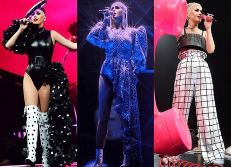 Katy Perry ngời ngời trong trang phục Nguyễn Công Trí tại đêm nhạc: Fan Việt lại rung rinh nữa rồi!