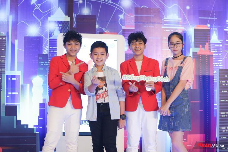 Các thí sinh tài năng của Giọng hát Việt nhí 2018.