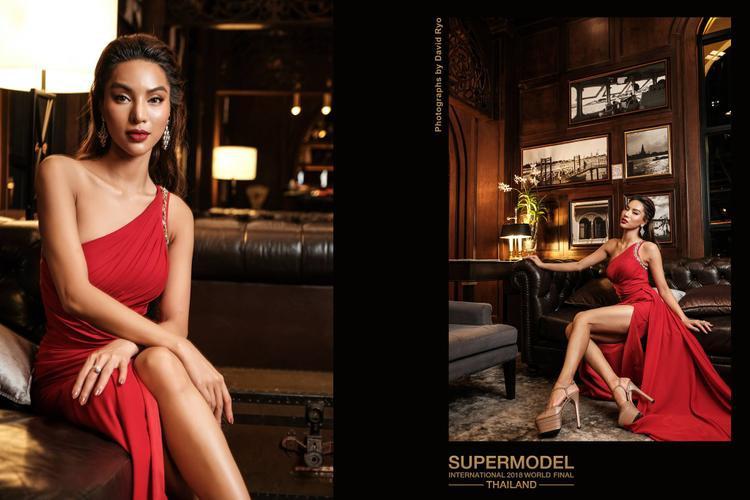 Với vẻ đẹp nóng bỏng và kinh nghiệm dày dặn, Khả Trang được đánh giá cao ngay từ đầu cuộc thi.