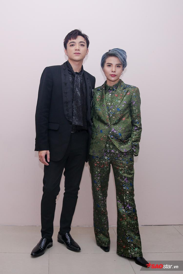 Cặp đôi Sơn Tường: Soobin Hoàng Sơn - Vũ Cát Tường.