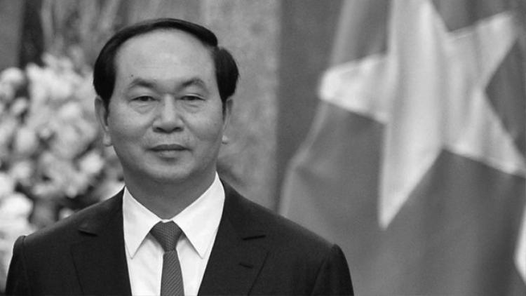 Chủ tịch nước Trần Đại Quang từ trần lúc 10 giờ 5 phút ngày 21.9.2018 tại Bệnh viện Trung ương Quân đội 108. Ảnh: NGỌC THẮNG.