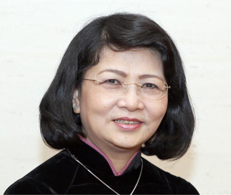 Phó chủ tịch nước Đặng Thị Ngọc Thịnh. Ảnh: THANH NIÊN.
