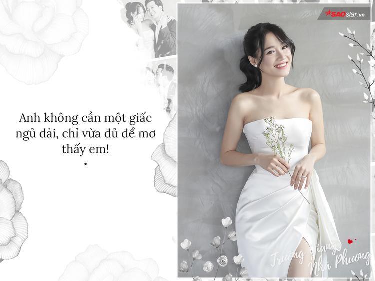 Bao nhiêu ngày tháng qua, một giấc mộng tình yêu duy nhất của Trường Giang không ai khác ngoài Nhã Phương.