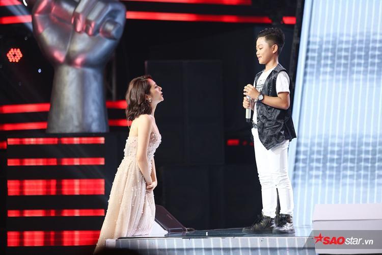 Bảo Anh lên tận sân khấu để năn nỉ nhưng Gia Bảo vẫn chọn về đội Soobin - Vũ Cát Tường.