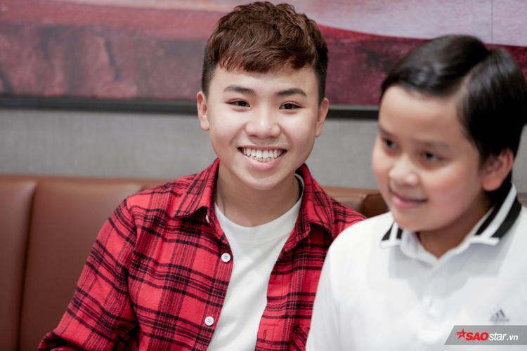 Nguyễn Công Quốc - Team HLV Cẩm Ly - Giọng hát Việt nhí 2015.