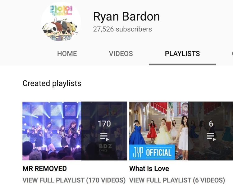 Có thể thấy, toàn bộ playlist trên kênh Youtube này đều là về Twice - căn cứ để mọi người nghi ngờ đây chính là một Once.