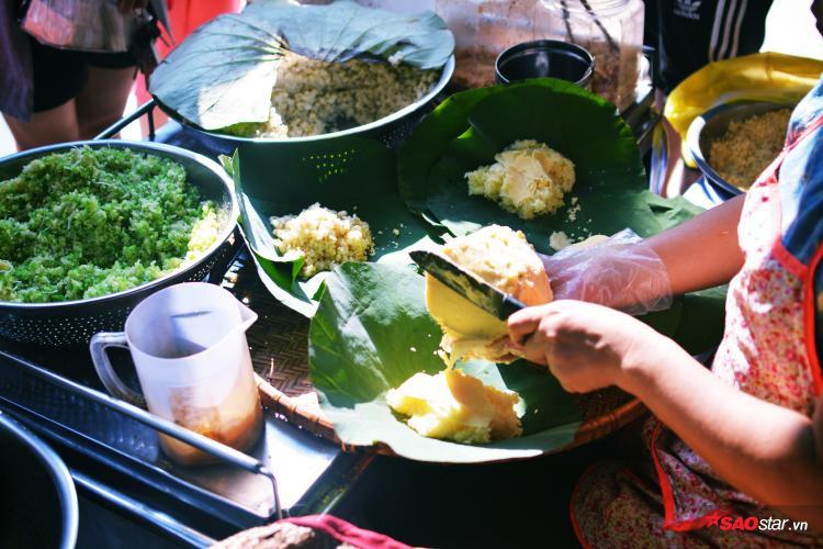 Xôi xéo, xôi bắp, xôi cốm, hay xôi gấc,… đều là những món ăn quen thuộc của người Hà Nội.