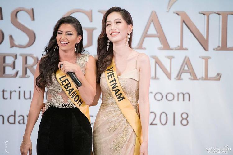 Phương Nga hát ca khúc xúc động này về Việt Nam khiến dàn thí sinh Miss Grand International lặng người