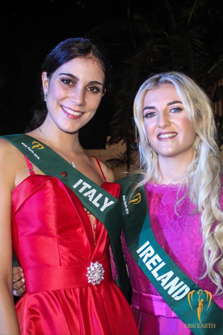 Đại diện Italy và Ireland cũng là trường hợp tương tự.