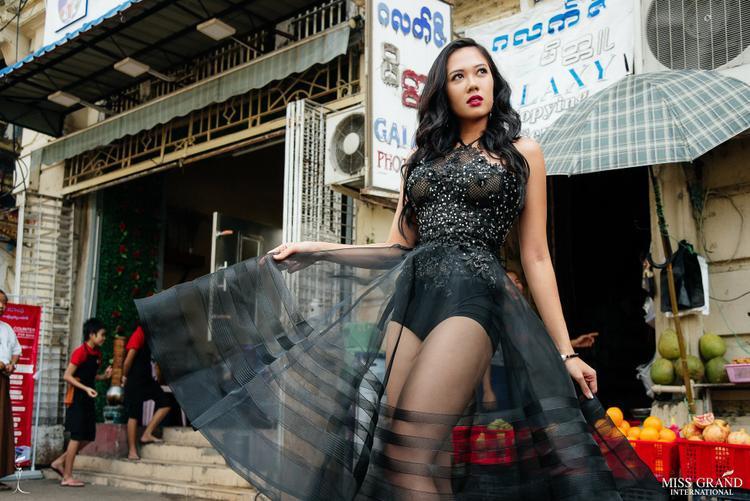Phương Nga tiếp tục đụng độ người đẹp Malaysia đang hạng 3…