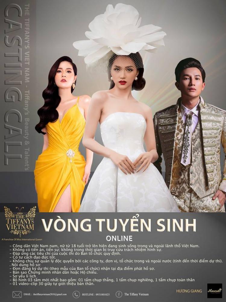 Thông tin về show thực tế mới mà Hương Giang sẽ tham gia trong thời gian sắp tới.