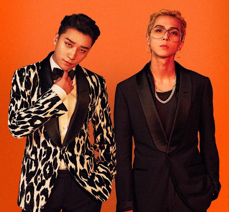Seungri và Mino.
