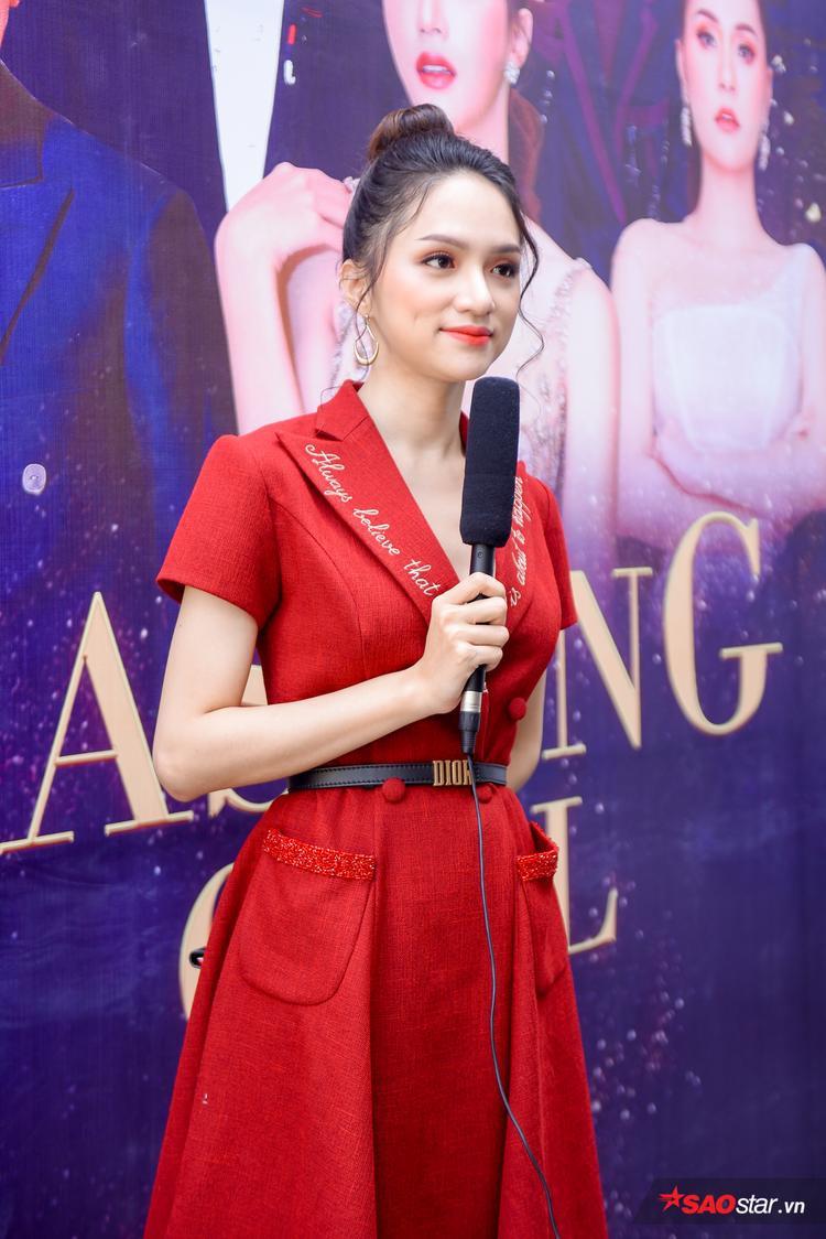 Hương Giang là giám khảo được chờ đợi nhất buổi casting The Tifany Vietnam sáng 6/11.
