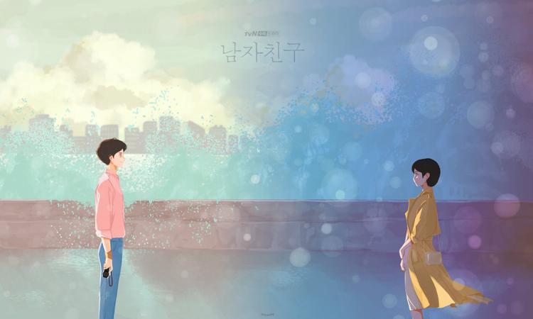 Phát hành ảnh nền điện thoại lung linh của Song Hye Kyo và Park Bo Gum trong Encounter/Boyfriend