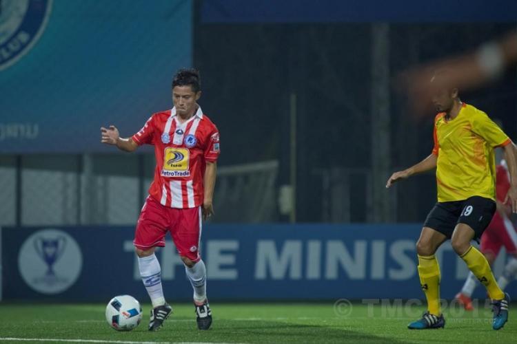 Vongchiengkham đang trở thành niềm hy vọng số một của bóng đá Lào.
