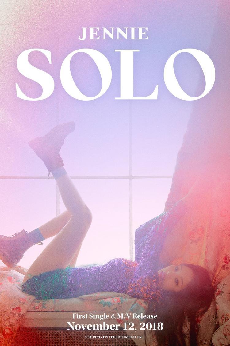 Jennie sẽ trở lại bằng một sản phẩm solo vào tháng 11.