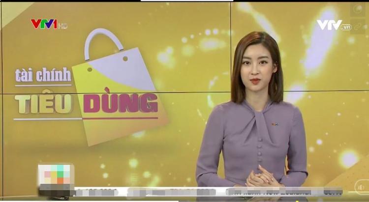Dở khóc dở cười với Hoa hậu Đỗ Mỹ Linh khi lần đầu lấn sân sang làm biên tập viên trên kênh truyền hình quốc gia