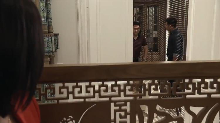 My sói bắt gặp Vũ và Thịnh nói chuyện về con trai của Quỳnh