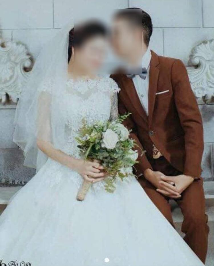 Ảnh cưới của đôi bạn trẻ - Ảnh: FB