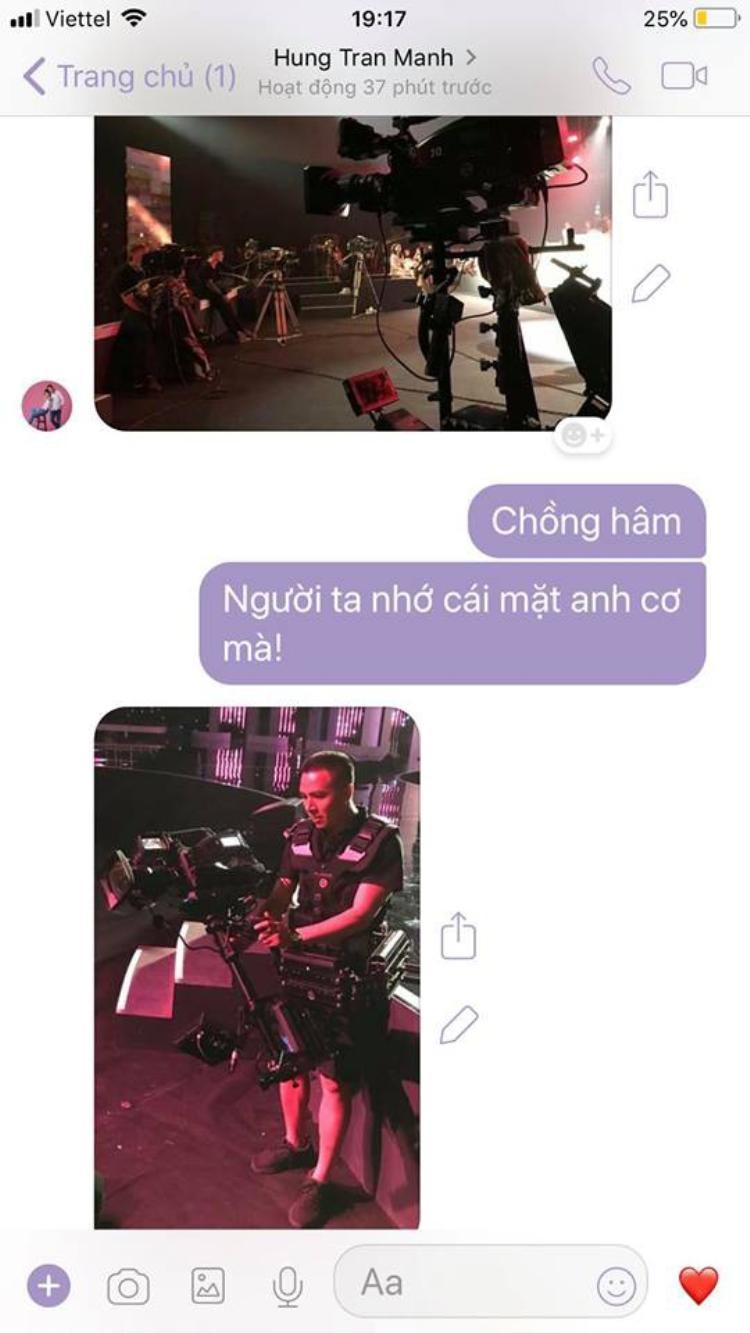 Ngày 9/11, Hoàng Linh đăng ảnh chụp màn hình đoạn trò chuyện giữa cô và chồng sắp cưới với những dòng tin nhắn quá ư ngọt ngào.