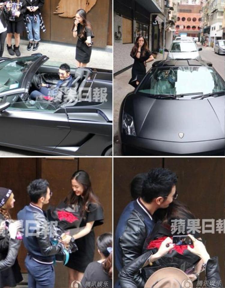 Angela Baby đón tuổi 25 cũng hoành tráng không kém với món quà từ bạn trai là siêu xe Lamborghini thể thao trị giá 200.000 đô la (tương đương hơn 4 tỷ đồng).