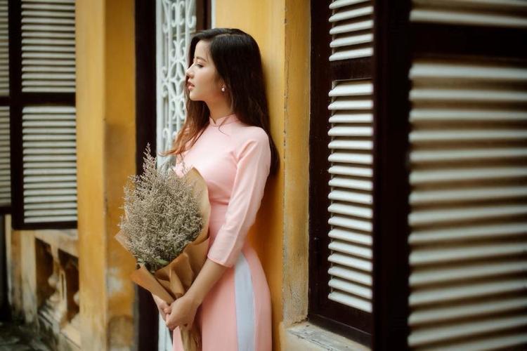 Ngoài việc học tập, cô bạn còn là mẫu ảnh nghiệp dư cho các shop thời trang.