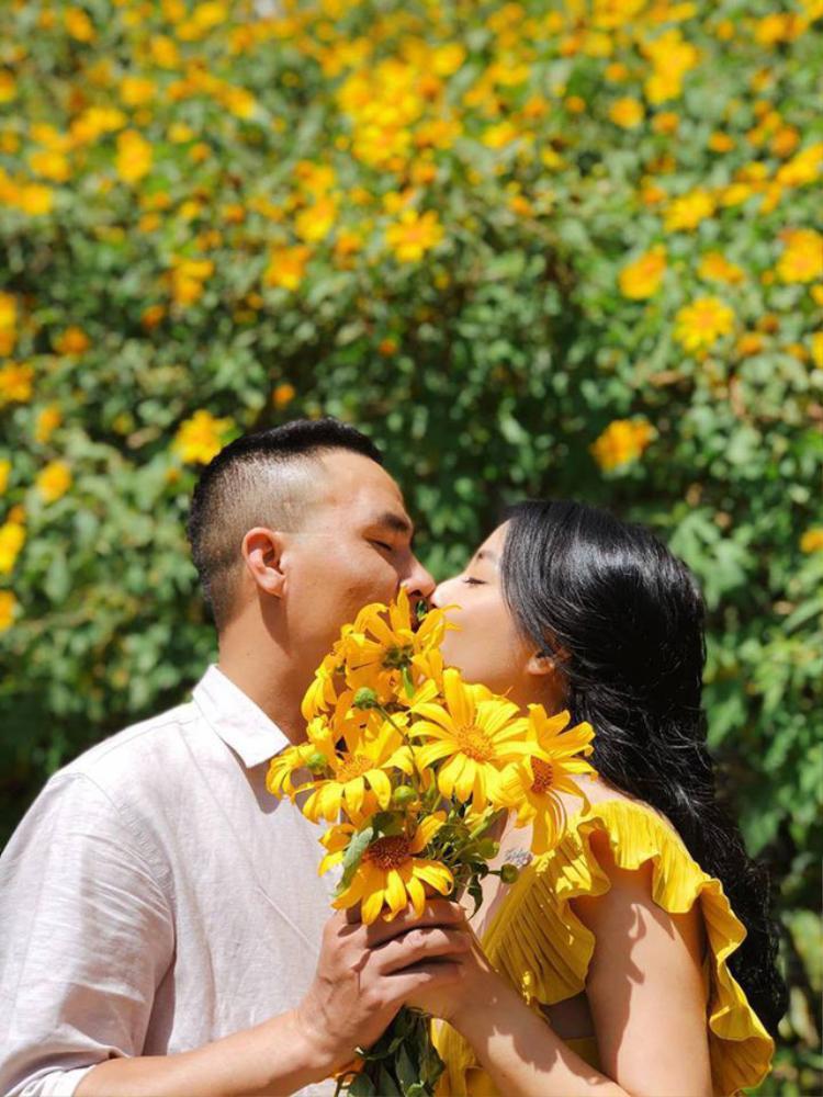 Cặp đôi Hoàng Linh - Mạnh Hùng.