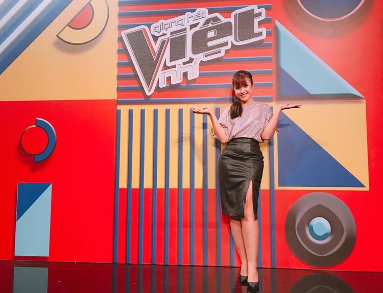 Vannie rất hào hứng với vai trò mới của mình tại The Voice Kids 2018.