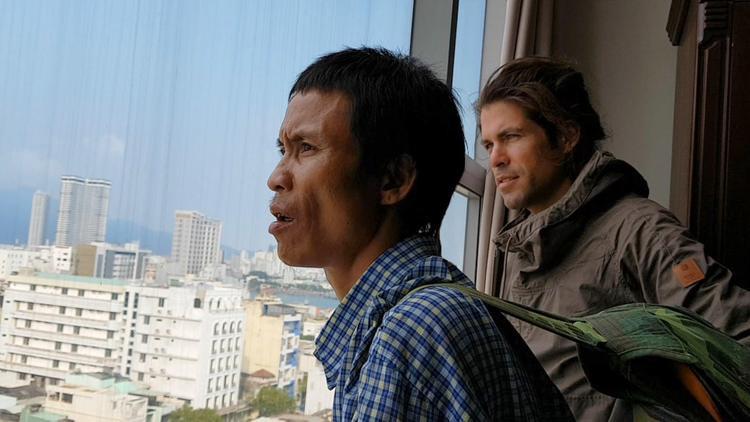 Anh Hồ Văn Lang cảm thấy lạ lẫm trước một thế giới hoàn toàn khác so với cuộc sống của anh từ trước tới nay. Ảnh:Nhân vật cung cấp