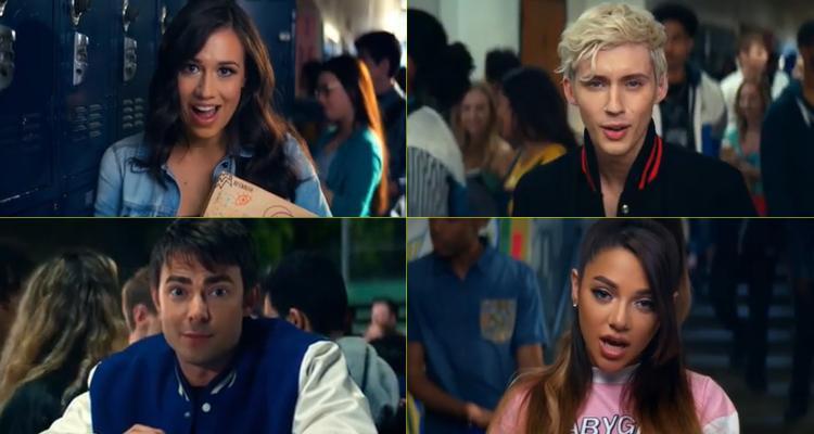 Dàn diễn viên trong MV còn có sự góp mặt của nam ca sĩ Troye Sivan nữa cơ này.