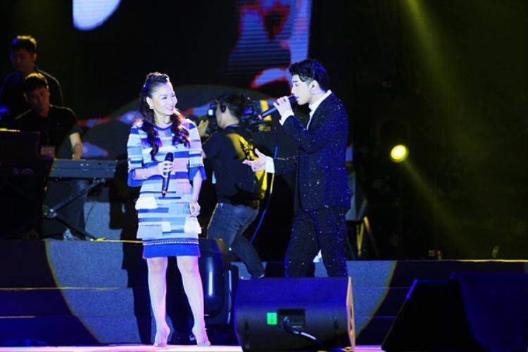 Thu Minh và Noo Phước Thịnh mang đến màn song ca đặc biệt trên sân khấu thủ đô.