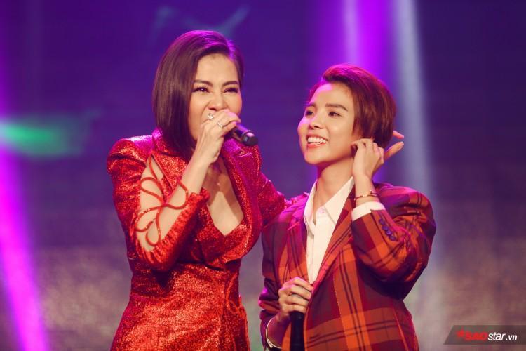 Thu Minh và Vũ Cát Tường trên sân khấu kết hợp lần đầu tiên.
