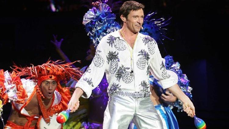 Hugh trong vở kịch The Boy From Oz năm 2003