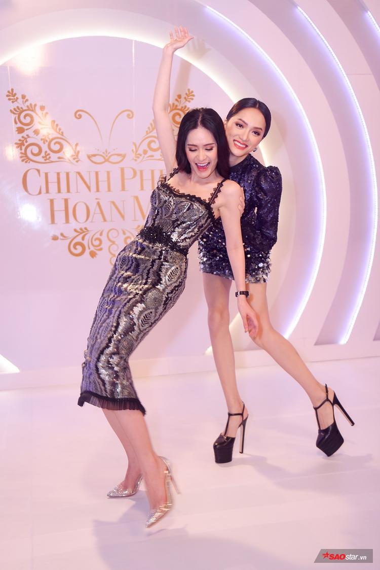 Ghi hình The Tiffany Vietnam: Hương Giang hóa chị đại với dáng pose quyền lực đọ dáng cùng người đẹp Di Băng